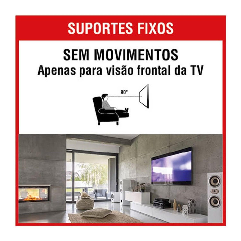 PROQUALIT SUPORTE PARA TV TRILHO FIXO 32-70 POL PQST-3270