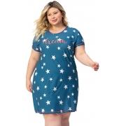 Camisola Plus Size Nobre Lua Encantada 10960007