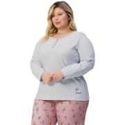 Pijama Longo Lua Encantada Plus Size 10900018