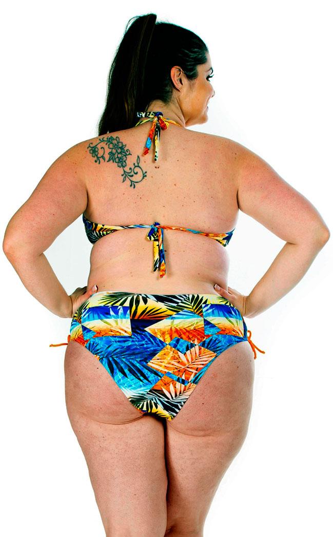Biquíni Bora Bora Acqua Rosa Estampado Plus Size 118891