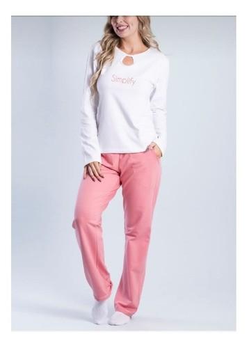 Conjunto De Pijama Composê - 015110005