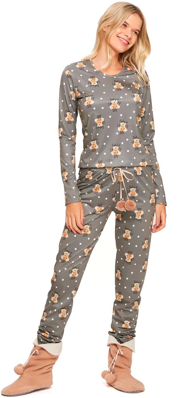 Pijama Longo Comfort Flanelado Recco 14532
