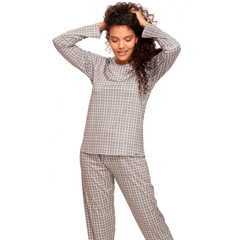 Pijama Longo Confort Flanelado Recco 14609c