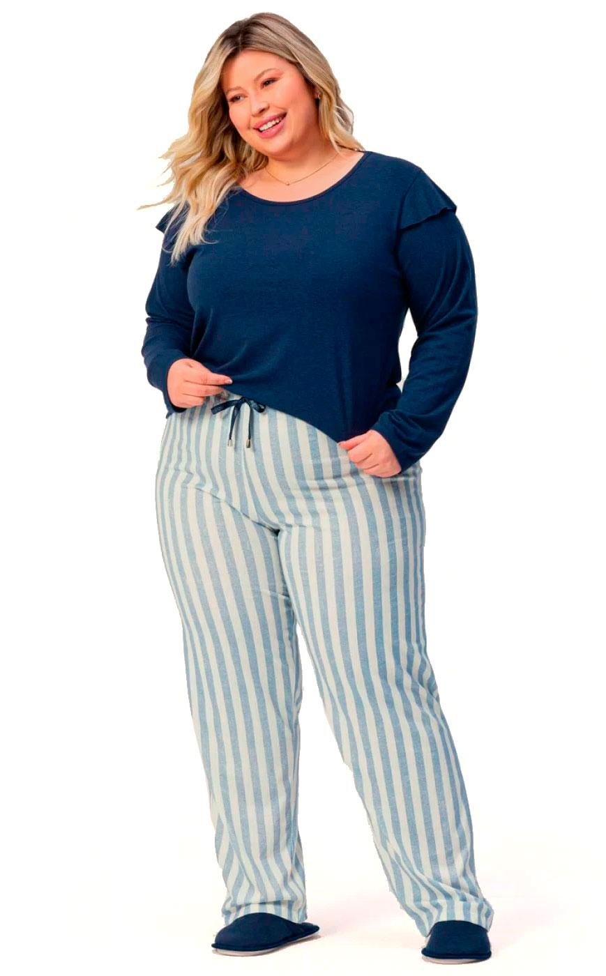 Pijama Longo Feminino Nobre Lua Encantada 10900017