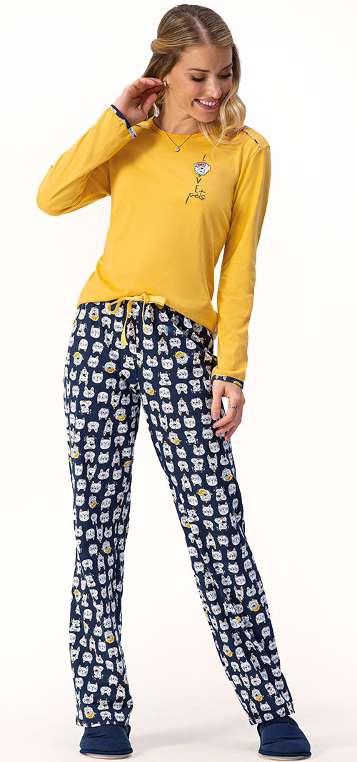 Pijama Longo Lua Encantada 10100061