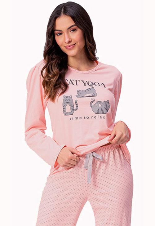 Pijama Longo Lua Encantada 10100071