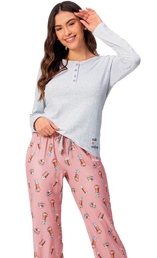 Pijama Longo Lua Encantada 10100078