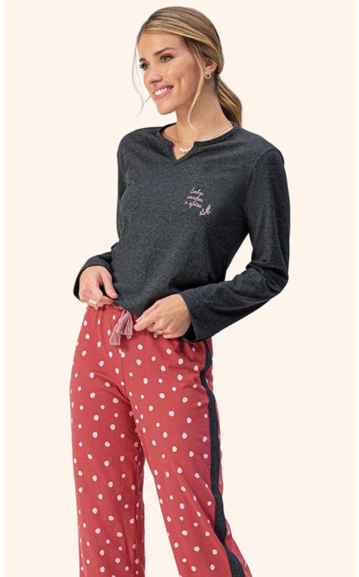 Pijama Longo Lua Encantada 10100084