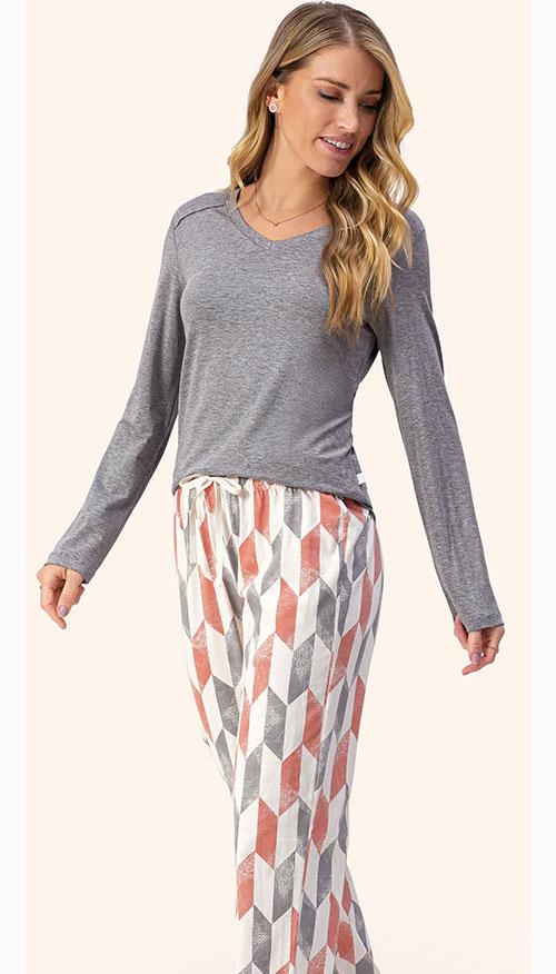 Pijama Longo Lua Encantada 10100098