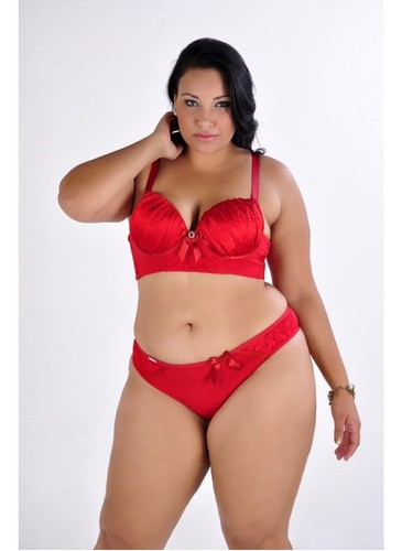Plus Size Conjunto Lingerie Virtual Fashion - L37