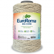 Barbantes Euroroma 1.8kg N°8 CAQUI