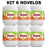 Anne 500 Kit Com 6 Unidades Branco