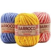 Barbante Barroco Multicolor 200g 10 Unidades Cores Variadas