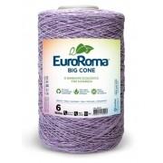 Barbante nº6 com 1,8kg EuroRoma - Cor Lilás Claro