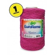 Barbante Euroroma 1,8kg Nº6 Cor Pink