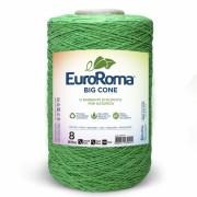 Barbante Euroroma Colorido 1,8Kg N8 Eurofios cor Verde Limão