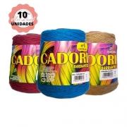 KIT 10 BARBANTES CADORI 4/6 ESPECIAL 700G CORES VARIADAS