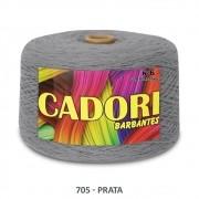 kit 3 Barbante Cadori N06 - 1,8KG Prata