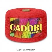 kit 3 Barbante Cadori N06 - 1,8KG Vermelho