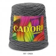 kit 3 Barbante Cadori N06 - 700m Cinza