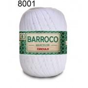 Kit 4 Barroco Max Color N6 400g Cor Branco 8001