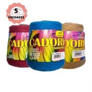 KIT 5 BARBANTES CADORI 4/6 ESPECIAL 700G CORES VARIADAS