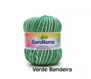 Kit 5 Barbantes Euroroma Milano 400g Verde Bandeira