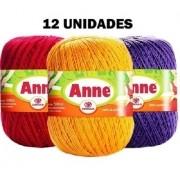 Linha Anne 500 - Kit 12 Unidades Cores Variadas