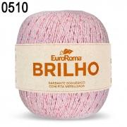 NOVELO EUROROMA BRILHO PRATA 4/6 - 400G - 406 M / ROSA BEBE