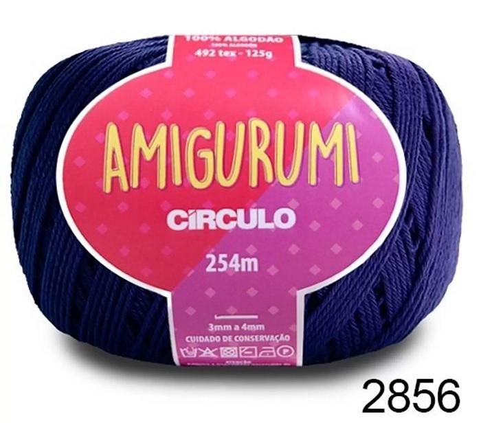 AMIGURUMI - COR 2856 AZUL ANIL