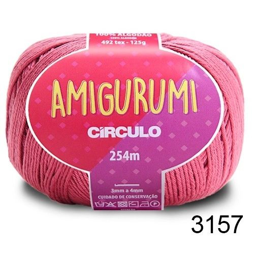AMIGURUMI - COR 3157