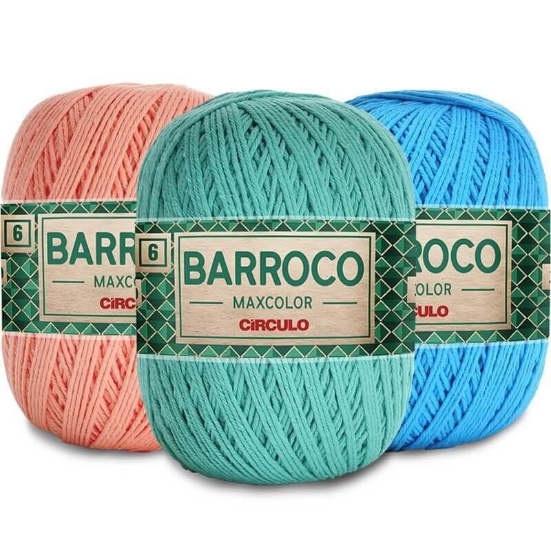 BARBANTE BARROCO MAX COLOR 4/6 - 400G PARTE 1 Original