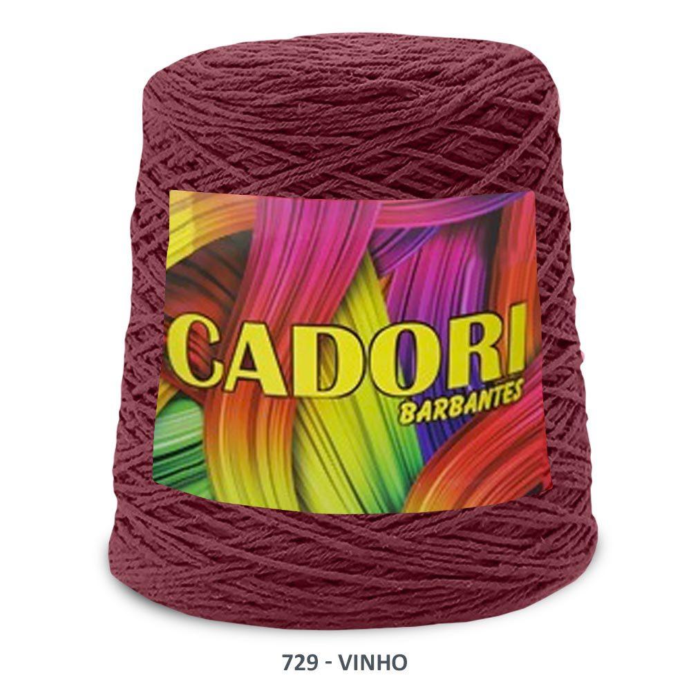 BARBANTE CADORI 4/6 ESPECIAL 700G COR 729 VINHO