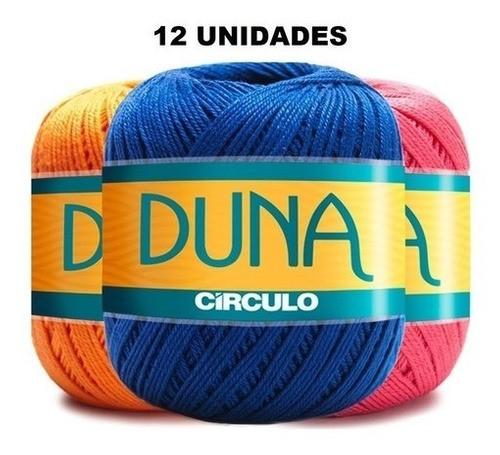 Barbante Duna Círculo - Kit 12 Unidades Cores Variadas