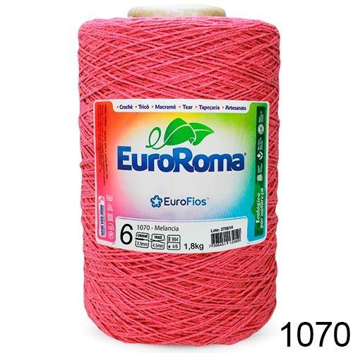 Barbante Euroroma 1.8kg N°6 Kit 3 Unidades Melancia