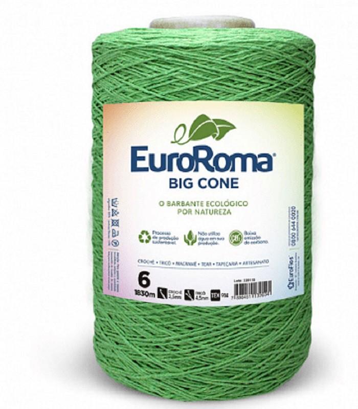 Barbante Euroroma Colorido N6 - 1,8Kg Verde Limâo
