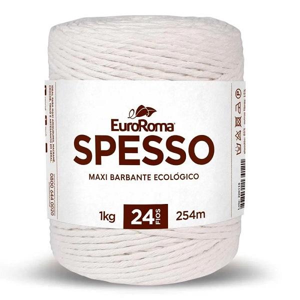 Barbante EuroRoma Spesso 24 fios 1Kg - Cru