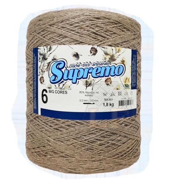 Barbante Supremo N6 - 1,8KG MARROM CLARO