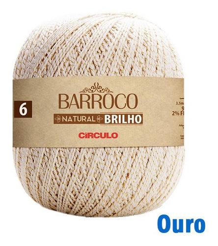 BARROCO NATURAL 4/6 BRILHO OURO COR 20