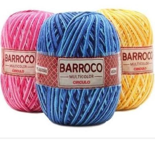 Kit 14 Barroco Max Color N6 400g Cores Variadas