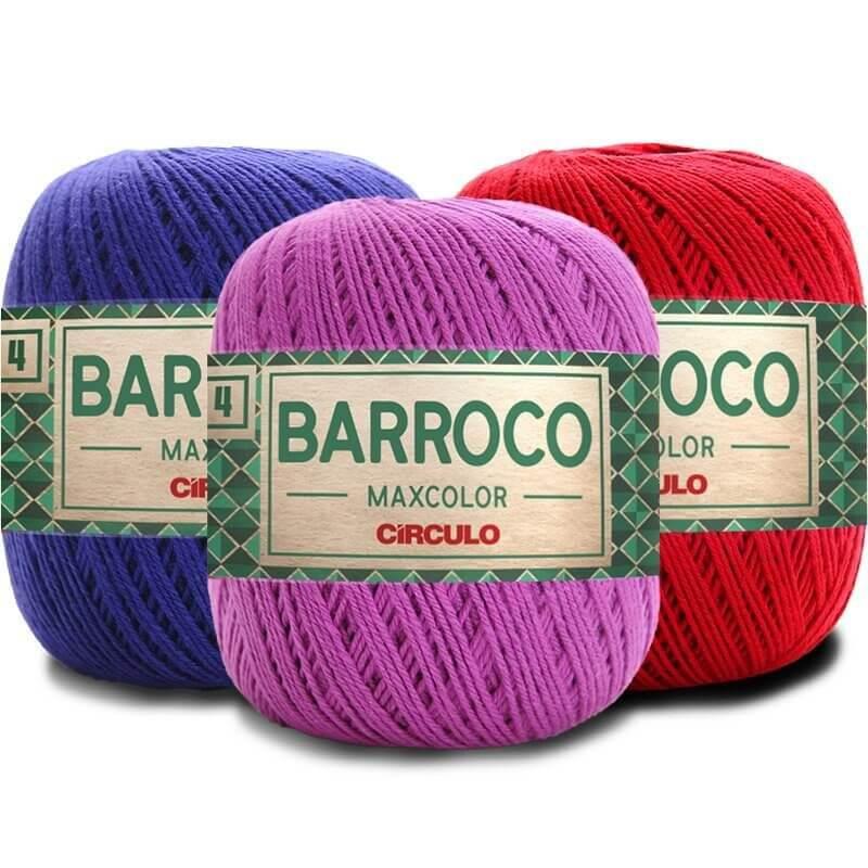 KIT 4 BARROCO MAX COLOR 4/4 200G