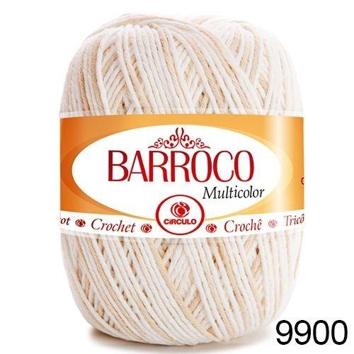 Kit 4 Barroco MultiColor N6 400g Cor 9900