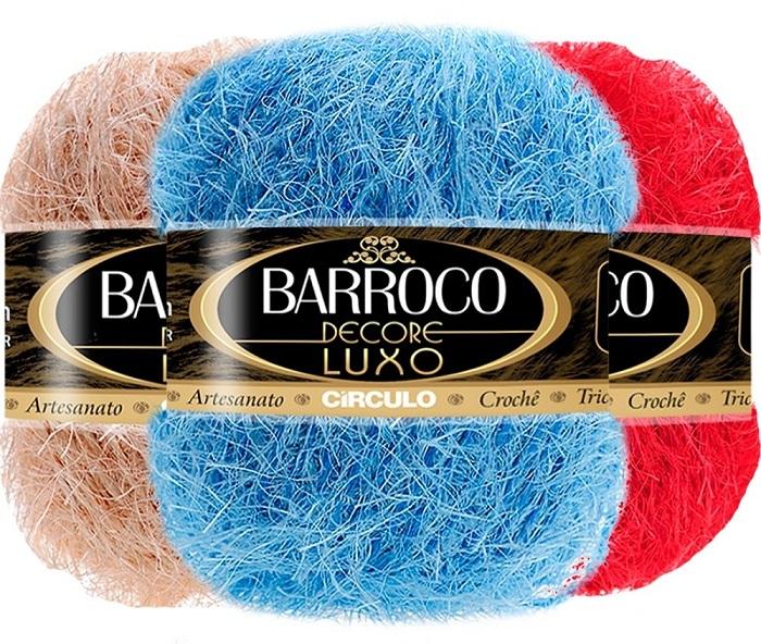 KIT 5 BARROCO DECORE LUXO 280G VARIADAS