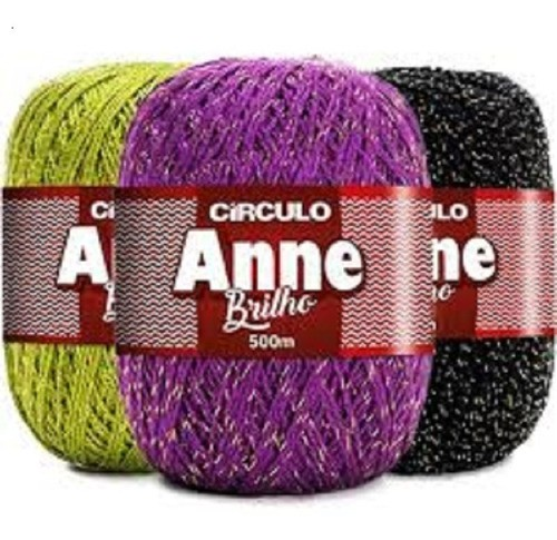 Kit 5 Unidades Linha Anne 500 Multicolor Brilho Cores Variadas