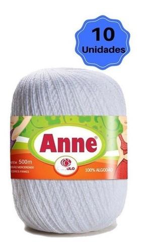 Linha Anne 500 BRANCO - Kit 10 Unidades