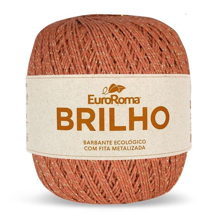 NOVELO EUROROMA BRILHO OURO 4/6 - 400G - 406 M / 710 TELHA