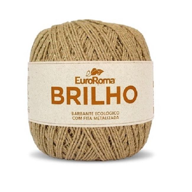 NOVELO EUROROMA BRILHO OURO 4/6 - 400G - 406 M / BEGE