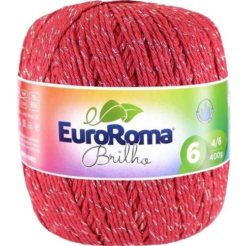 NOVELO EUROROMA BRILHO PRATA 4/6 - 400G - 406 M / VERMELHO