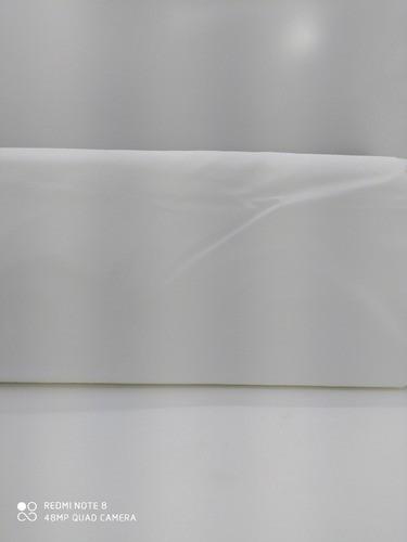 Tecido Tricoline Branco Dholer 100% Algodão 1mx1,50m