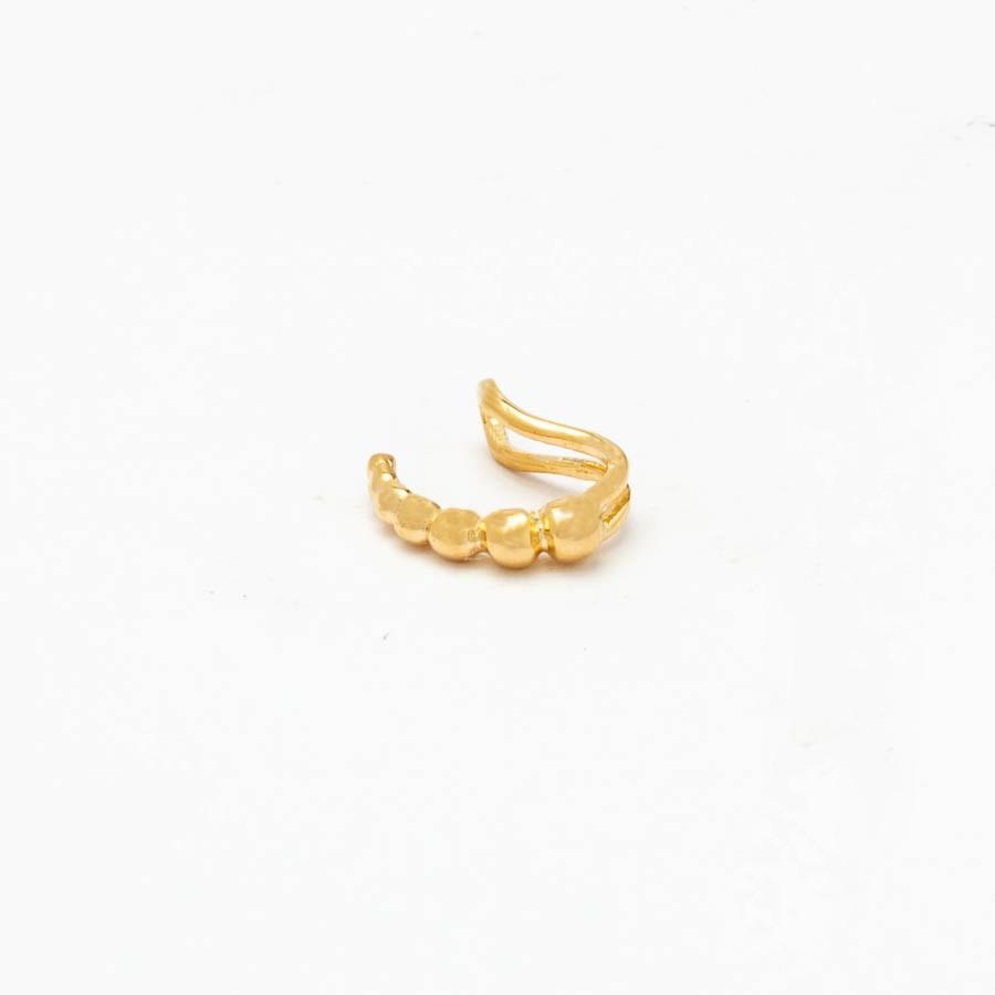 Piercing  Bolinhas Banhado Ouro 18k